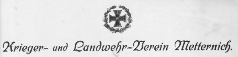 Abb_1 Briefkopf Krieger- und Landwehr-Verein 1913