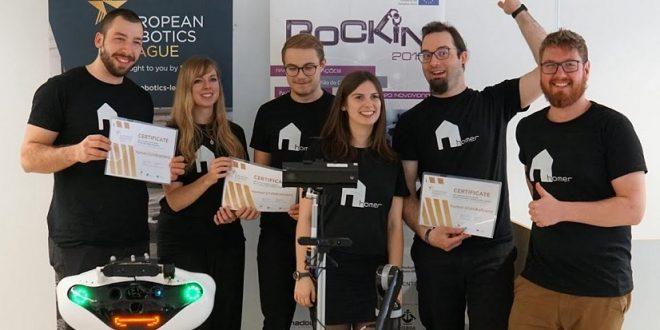 Handgepäckkoffer-Roboter Scratchy erfolgreich in Lissabon