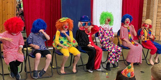 Kinderhort Kaul-Quappen feierte Zirkus-Sommerfest